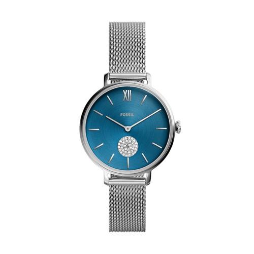 Fossil Kalya Three-Hand Stainless Steel Watch  jewelry