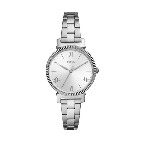 Fossil Daisy Three-Hand Stainless Steel Watch  jewelry