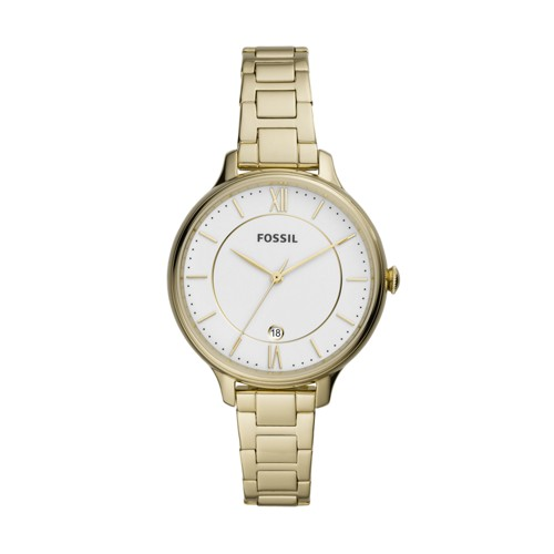 Winnie Three-Hand Gold-Tone Stainless Steel Watch ES4876