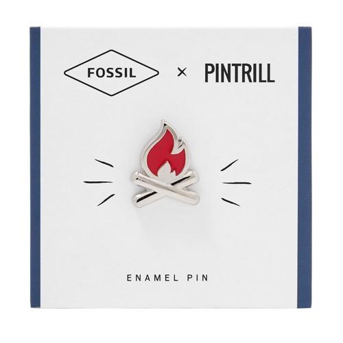 Fossil X Pintrill Fire Pin Fcu0130600