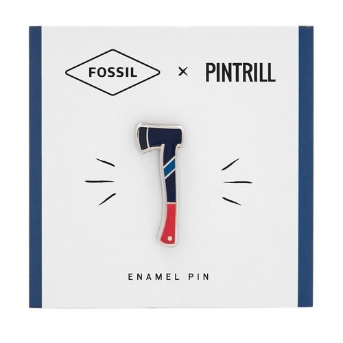 Fossil X Pintrill Axe Pin Fcu0131470