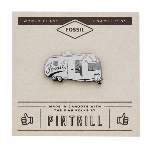 Fossil Pintrill® X Fossil Trailer Pin   GREY
