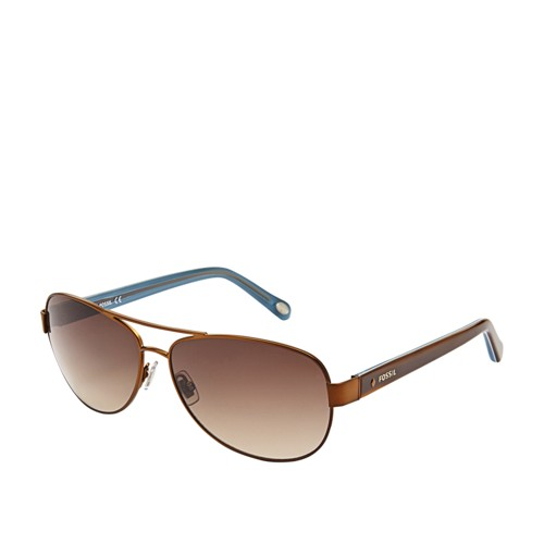 Fossil Jacey Aviator Sunglasses FOS2004S01P5
