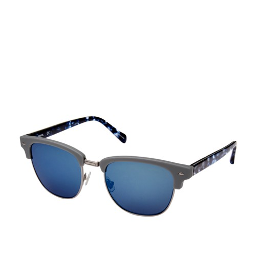 Fossil Arbuckle Round Sunglasses FOS2057S0FRE