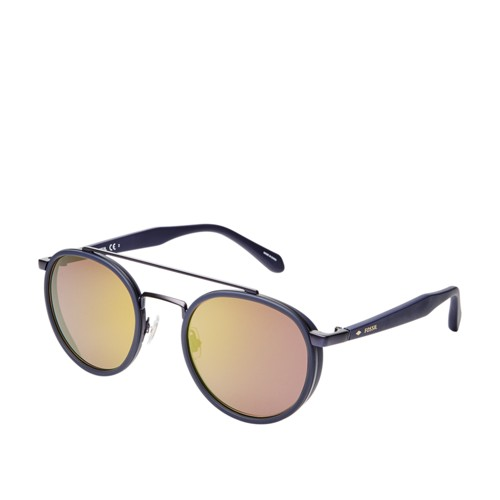 b88f5cbe85 Fossil Calihan Round Sunglasses FOS2082S0IPQ