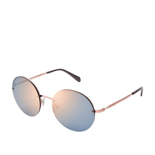 Fossil Birchridge Round Sunglasses FOS2083S0AU2