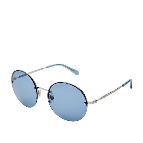 Fossil Birchridge Round Sunglasses FOS2083S0YB7