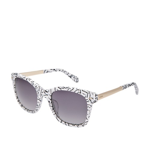 Fossil Lyndhurt Rectangle Sunglasses FOS2086S0GBY
