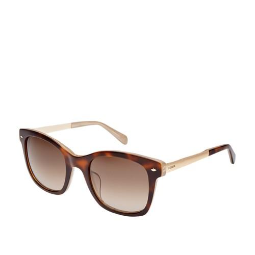 Fossil Lyndhurt Rectangle Sunglasses FOS2086S0XLT