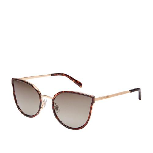 Fossil Binkly Cat Eye Sunglasses FOS2087S02IK