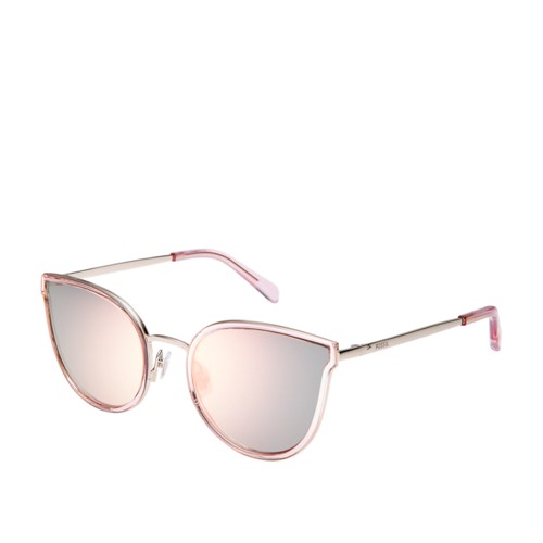 Fossil Binkly Cat Eye Sunglasses FOS2087S0TJV
