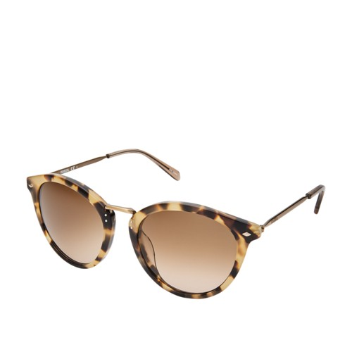 Fossil Elsie Round Sunglasses FOS2092S0086