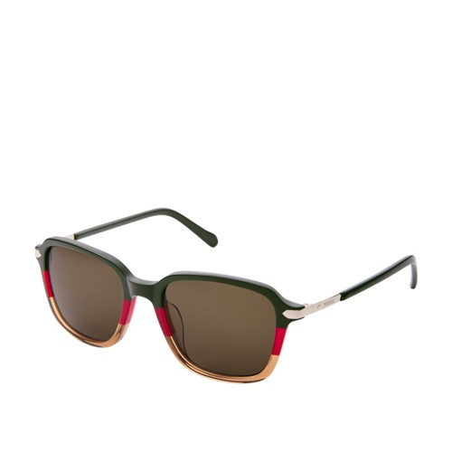Glenwood Rectangle Sunglasses FOS2095G0PNR