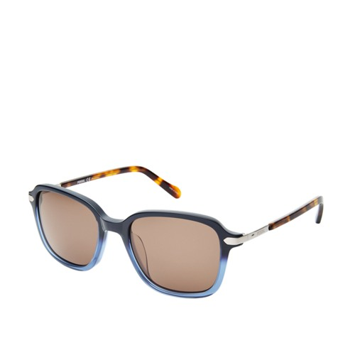 Fossil Glenwood Rectangle Sunglasses  Accessories