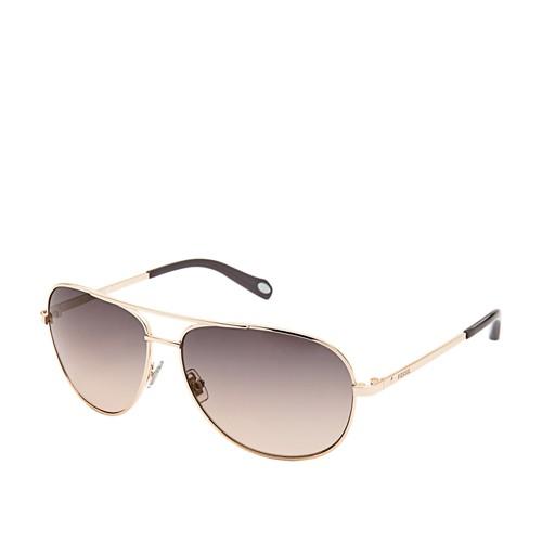 Fossil Alex Aviator Sunglasses Fos3010s0au2