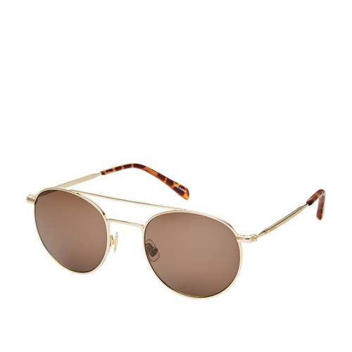 Fossil Laverton Round Sunglasses FOS3069S006J