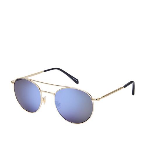 Fossil Laverton Round Sunglasses FOS3069S03YG
