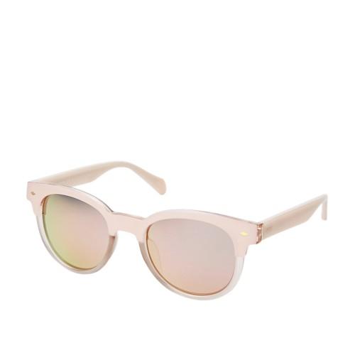 Fossil Hadlow Cat Eye Sunglasses FOS3072S08XO