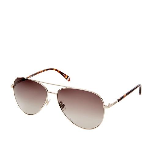 Fossil Coleto Aviator Sunglasses FOS3074S03YG