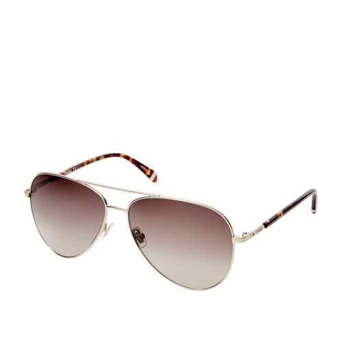 Fossil Coleto Avaiator Sunglasses FOS3074S03YG