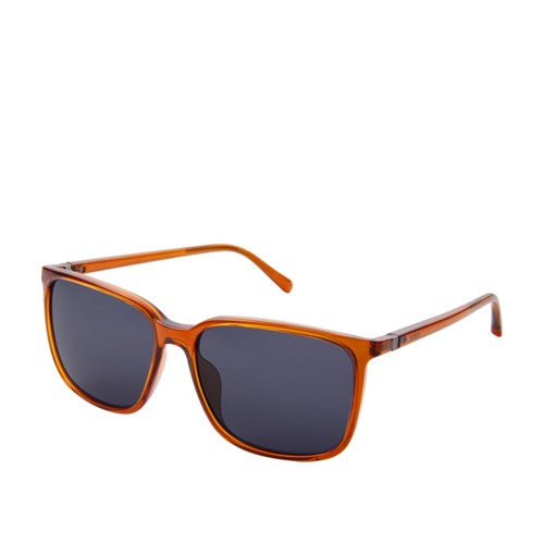 Fossil Lofland Rectangle Sunglasses  Accessories