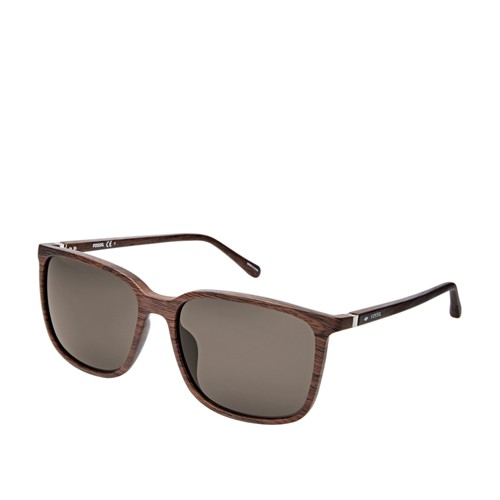 fddf2e2dfb08 Fossil Lofland Rectangular Sunglasses FOS3081S0EX4