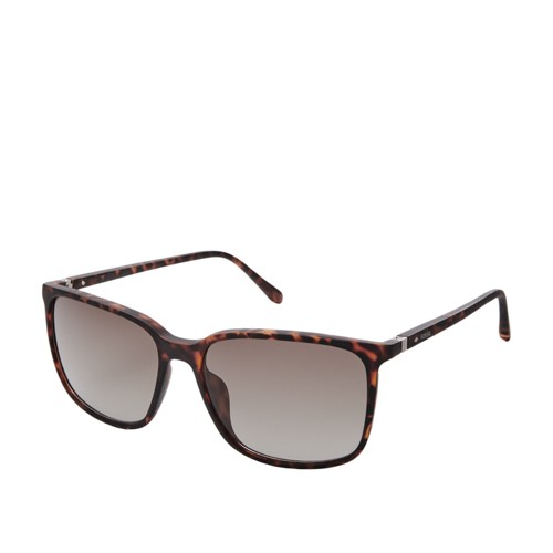 Fossil Lofland Rectangle Sunglasses FOS3081S0N9