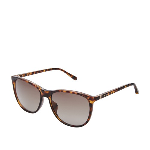 Fossil Lindenwood Rectangle Sunglasses FOS3082S0086