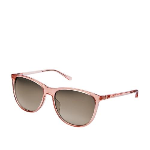 Fossil Lindenwood Rectangular Sunglasses FOS3082S0W66