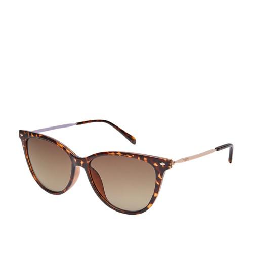 Fossil Mockingbird Cat Eye Sunglasses FOS3083S0086