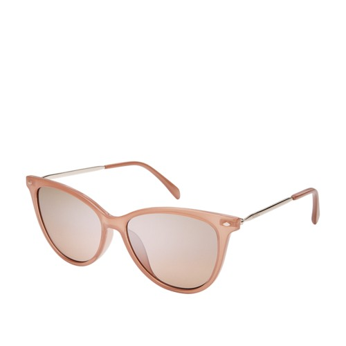 Fossil Mockingbird Cat Eye Sunglasses FOS3083S035J