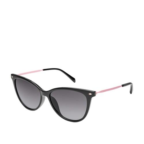 Fossil Mockingbird Cat Eye Sunglasses FOS3083S0807