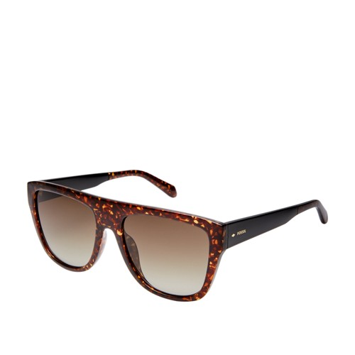 Fossil Dreamaker Rectangle Sunglasses FOS3085S0086