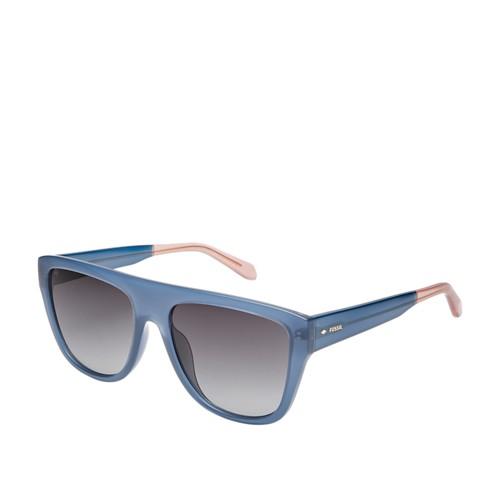Fossil Dreamaker Rectangle Sunglasses FOS3085S0PJ