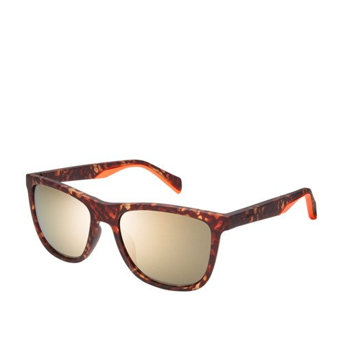 Fossil Bunkhouse Rectangle Sunglasses FOS3086S0N9