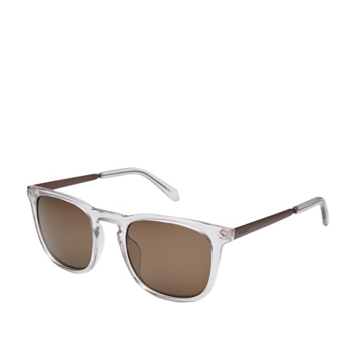Fossil Tanglewood Rectangle Sunglasses FOS3087S0900