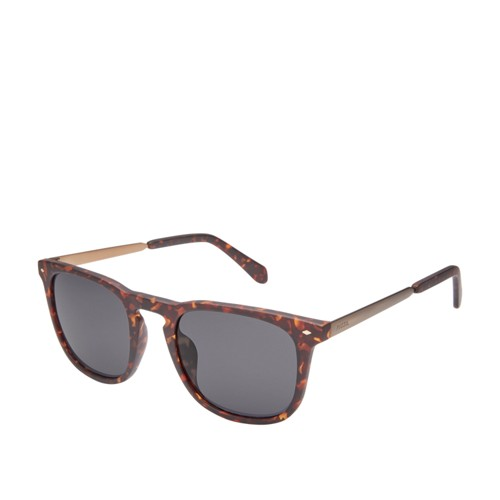 Fossil Tanglewood Rectangle Sunglasses FOS3087S0N9