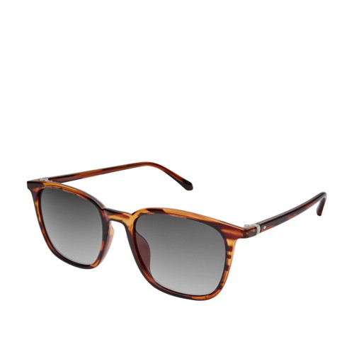 Fossil Weldon Rectangle Sunglasses  Accessories