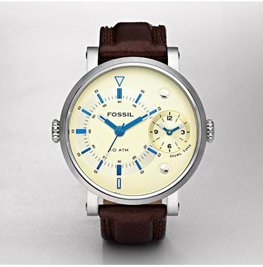 Fossil FS4338, Multifunction Champagne Dial