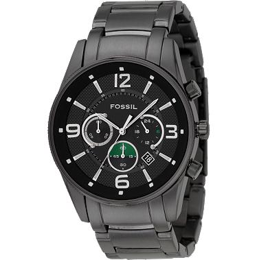 Fossil FS4446 Chrongraph Black Dial