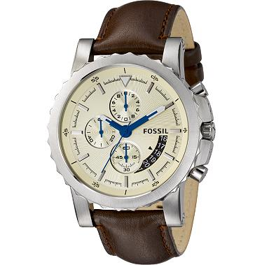 Fossil FS4456 Chronograph Champagne Dial