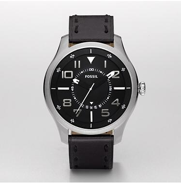 Fossil FS4458 Analog Black Dial