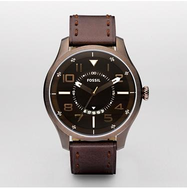 Fossil FS4459 Analog Brown Dial