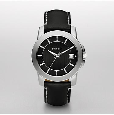 Fossil FS4498, Analog Silver Dial