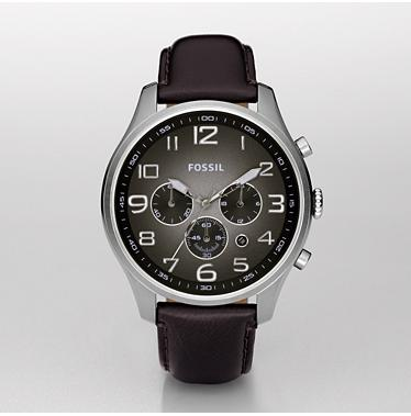 Fossil FS4514, Chronograph Black Degrade Dial