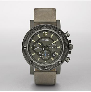 Fossil FS4522 Chronograph Grey Dial