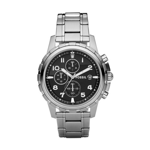 Fossil Dean Chronograph Stainless Steel Watch - FS4542