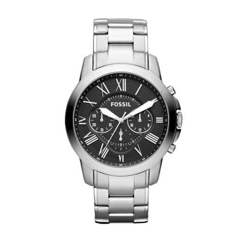 fossil Grant Chronograph Stainless Steel Watch FS4736