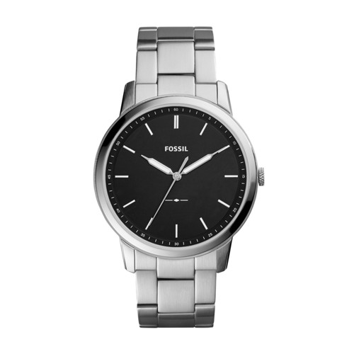 The Minimalist Slim Three-Hand Stainless Steel Watch FS5307