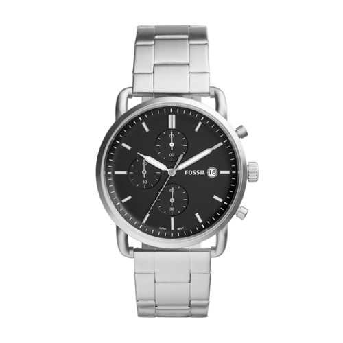 Fossil The Commuter Chronograph Stainless Steel Watch FS5399